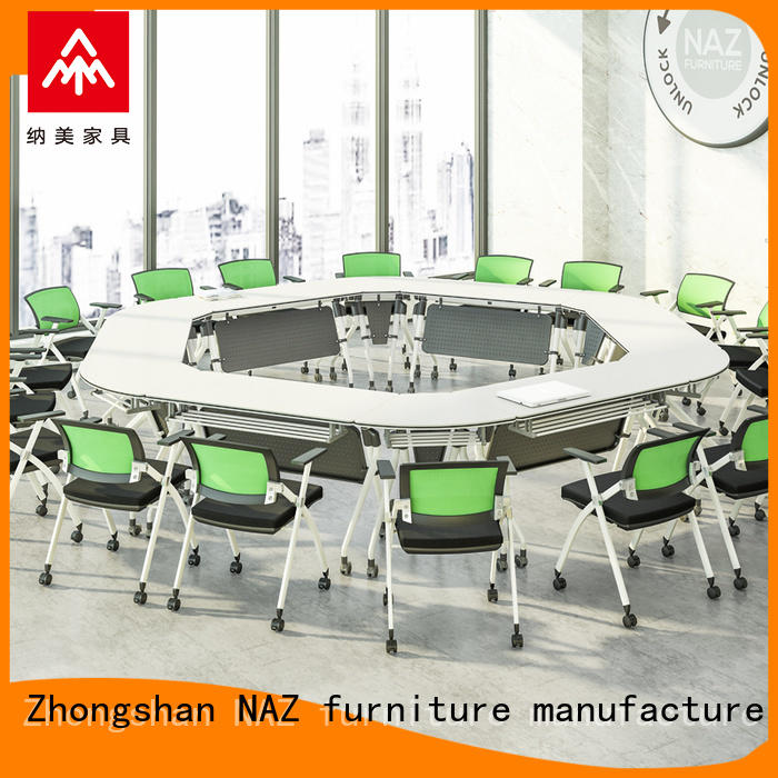 movable conference table and chairs ft020c for sale for meeting room