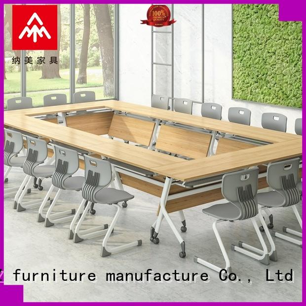 NAZ furniture movable portable conference table for sale training room