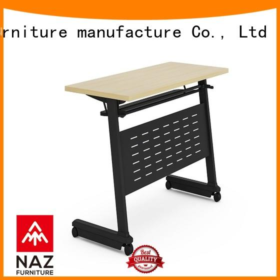 NAZ furniture professional nesting training tables with wheels
