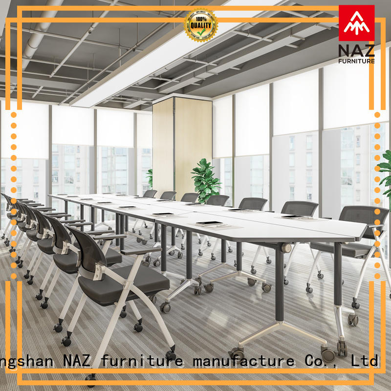 NAZ furniture durable oval conference table for sale for training room