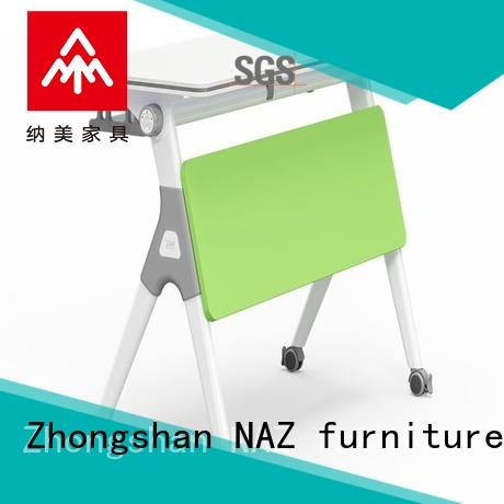 NAZ furniture computer training room furniture with wheels for school