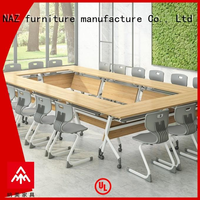 Modern Folding Modular conference table FT-013C for 6/8/10/12/16/20 Persons