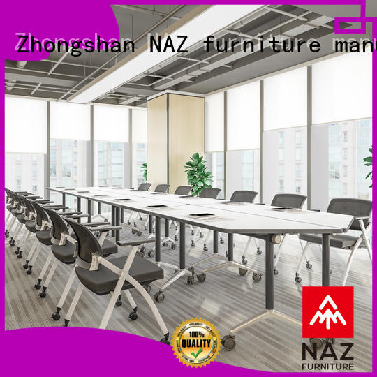 NAZ furniture ft013c 12 conference table on wheels for training room