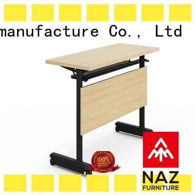 NAZ furniture movable training tables and chairs for conference for school