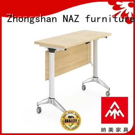 NAZ furniture base training room desks with wheels for office