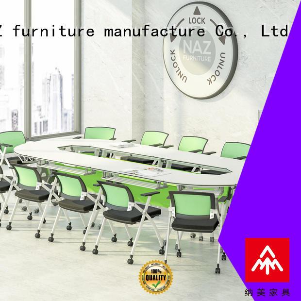 on foldable office furniture manufacturer for training room NAZ furniture