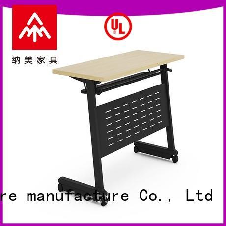NAZ furniture professional 18 x 72 training table aluminum school