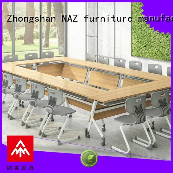 NAZ furniture ft006c office conference room table on wheels for office