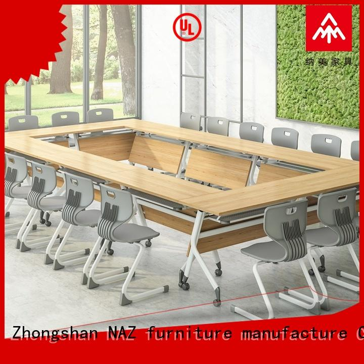 NAZ furniture durable modular conference table design for conference for school