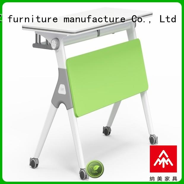 NAZ furniture ft001 training desk with wheels for office