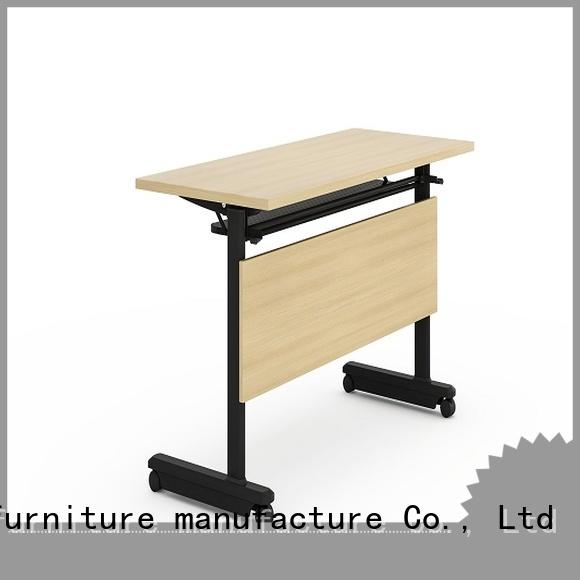 NAZ furniture aluminum modular training room furniture with wheels for home