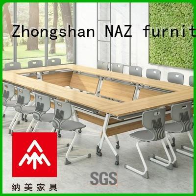 NAZ furniture nesting u shaped conference table manufacturer for office