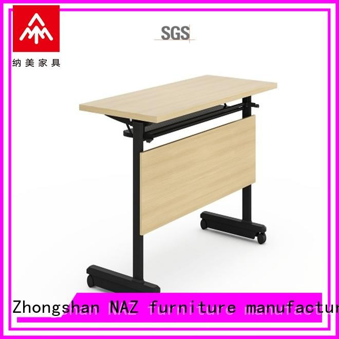 writing training table nesting with wheels for training room