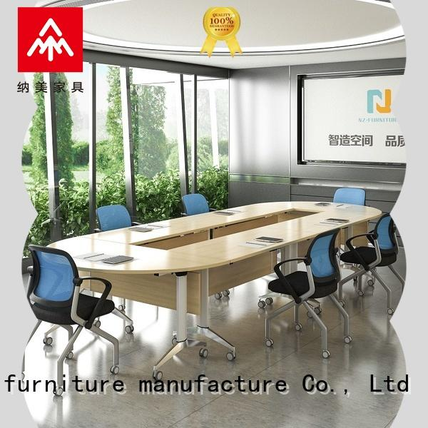 6/8/10/12/16/20Persons Folding Aluminum alloy conference table  FT-001C
