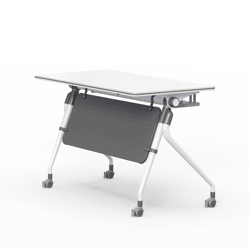 6/8/10/12/16/20 Persons Folding conference table One-click flip FT-019C-1