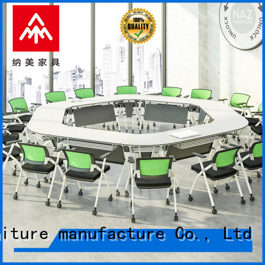 NAZ furniture ft020c mobile conference table manufacturer for school