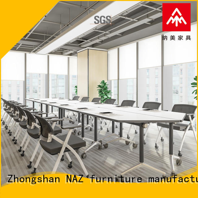 NAZ furniture end conference room table and chairs for sale for meeting room