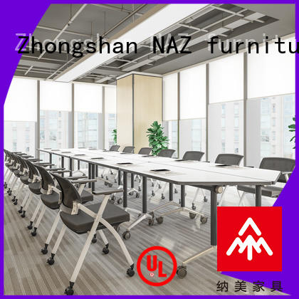 movable white conference table durable manufacturer for office