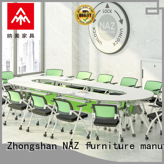 NAZ furniture durable portable conference room tables for conference for school