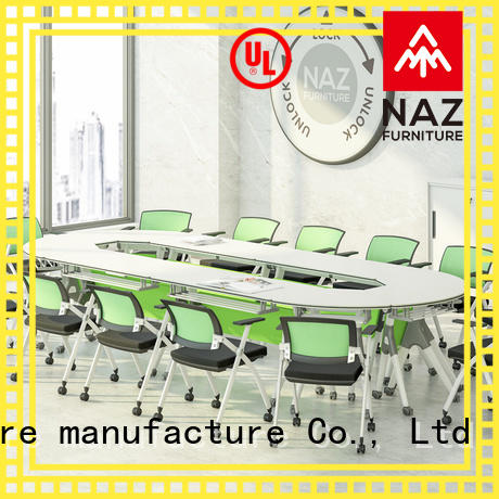 NAZ furniture movable mobile conference table manufacturer for training room