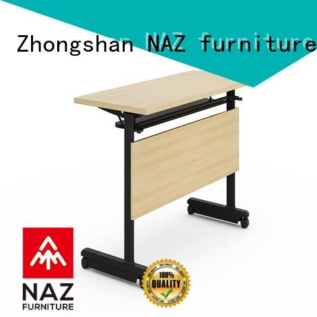 professional training desk multipurpose with wheels for office
