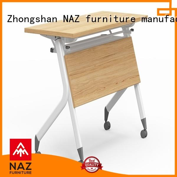 writing training room desks ft008 with wheels for office