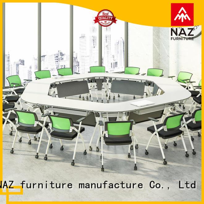 NAZ furniture elegant conference room tables folding for conference for office