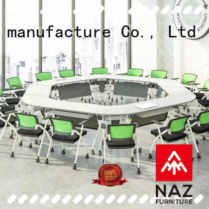 NAZ furniture movable square conference table for sale for school